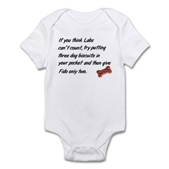 Counting Labs Infant Creeper