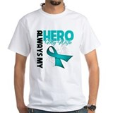 Ovarian Cancer Hero Wife  Shirt