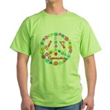 Gymnastics Peace Sign T-Shirt