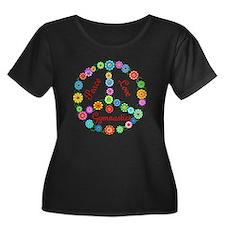 Gymnastics Peace Sign T