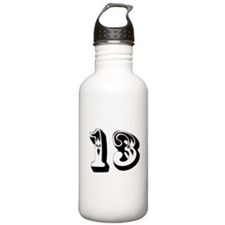 Unique Lucky 13 Water Bottle