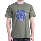 Stomach Cancer Butterfly T-Shirt