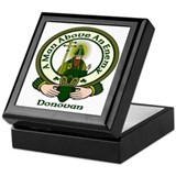 Donovan Clan Motto Keepsake Box