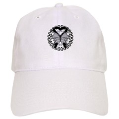 Skin Cancer Butterfly Cap