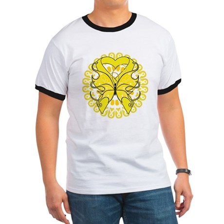 Sarcoma Cancer Butterfly Ringer T