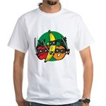 Fruits Fight Back White T-Shirt