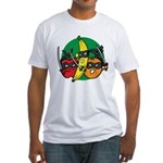 Fruits Fight Back Fitted T-Shirt