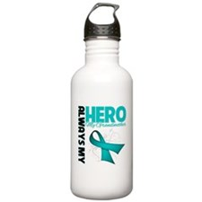 Ovarian Cancer Hero Grandmother Sports Water Bottle