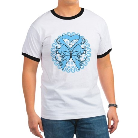 Prostate Cancer Butterfly Ringer T