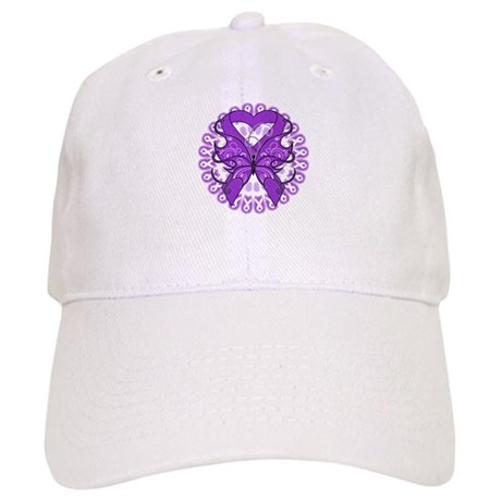 Pancreatic Cancer Butterfly Cap