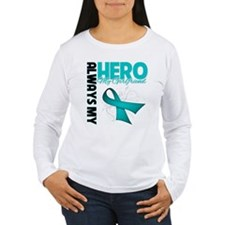 Ovarian Cancer Hero Girlfriend T-Shirt