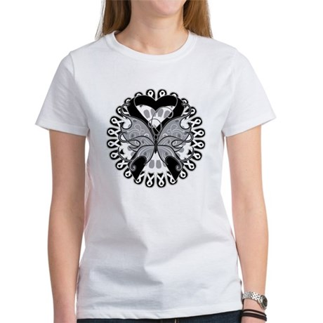 Melanoma Butterfly Women's T-Shirt