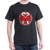 Lung Cancer Butterfly T-Shirt