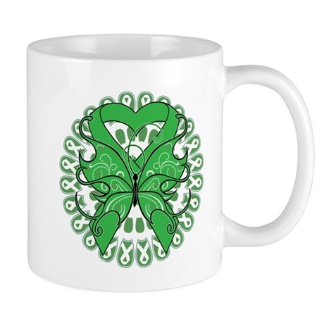 Liver Cancer Butterfly Mug