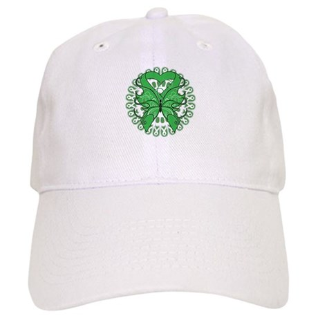 Liver Cancer Butterfly Cap