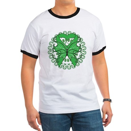 Liver Cancer Butterfly Ringer T