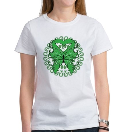 Liver Cancer Butterfly Women's T-Shirt
