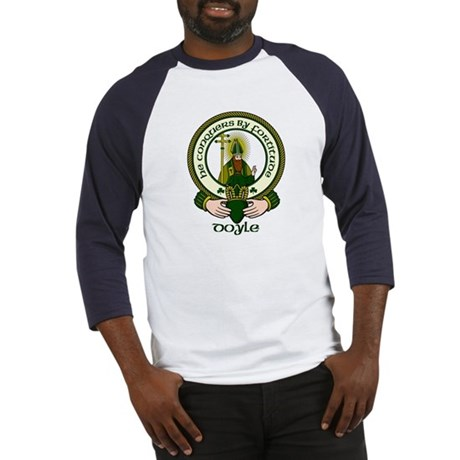 Doyle Clan Motto Baseball Jersey