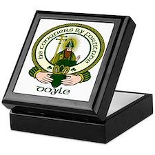 Doyle Clan Motto Keepsake Box
