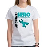 Ovarian Cancer Hero DIL Tee