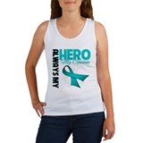Ovarian Cancer Hero Cousin Women's Tank Top