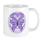 General Cancer Butterfly Mug