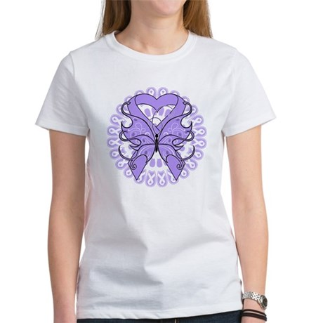 General Cancer Butterfly Women's T-Shirt