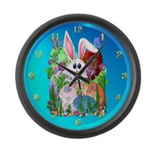 Easter! Get into it... Large Wall Clock