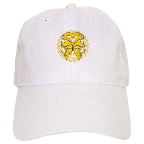 Childhood Cancer Butterfly Cap