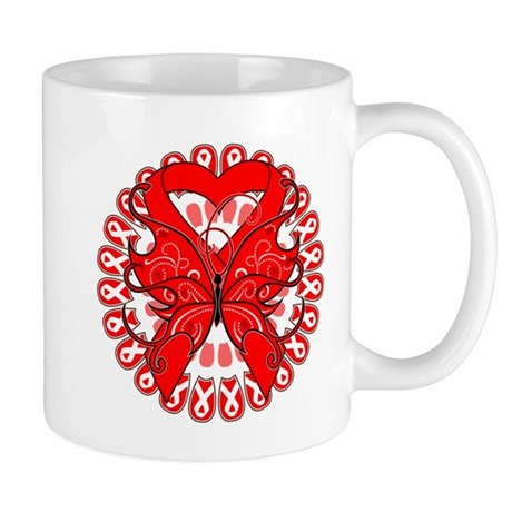 Blood Cancer Butterfly Mug