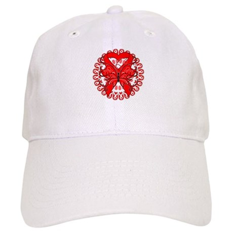 Blood Cancer Butterfly Cap