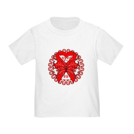Blood Cancer Butterfly Toddler T-Shirt