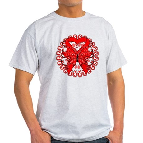 Blood Cancer Butterfly Light T-Shirt