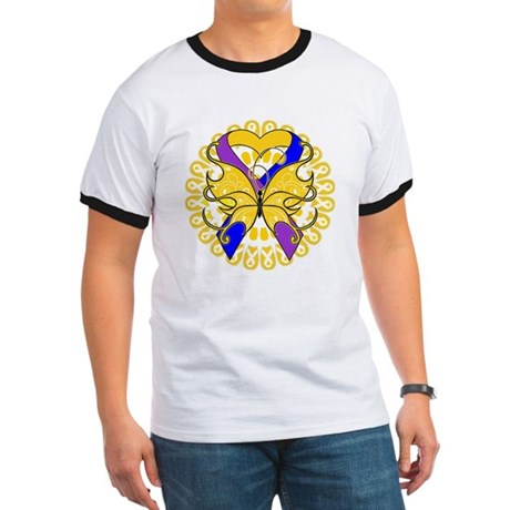 Bladder Cancer Butterfly Ringer T