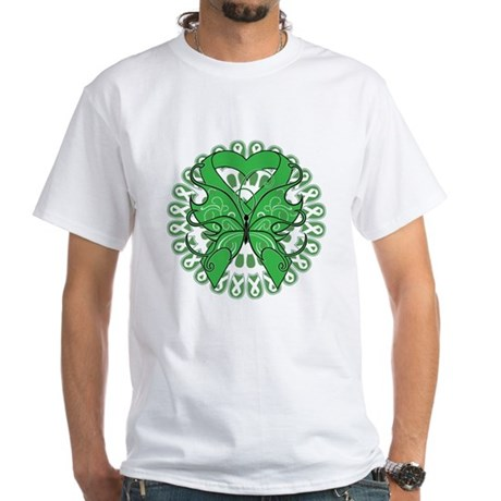 Bile Duct Cancer White T-Shirt
