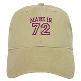 Made in 72 Baseball Cap