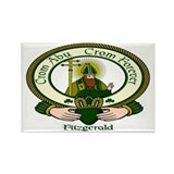 Fitzgerald Clan Motto Rectangle Magnet (10 pack)