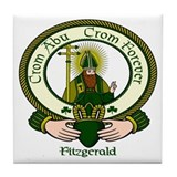 Fitzgerald Clan Motto Ceramic Tile