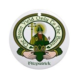 Fitzpatrick Clan Motto Ornament (Round)