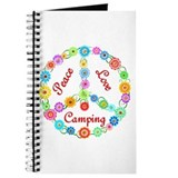 Camping Peace Sign Journal