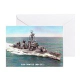 USS COWELL Greeting Card