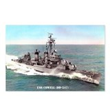 USS COWELL Postcards (Package of 8)
