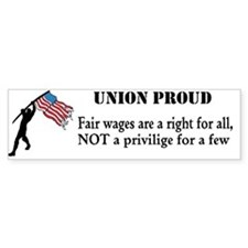 Cute Union Bumper Sticker