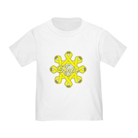 Bladder Cancer Hope Unity Toddler T-Shirt