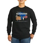 SPEEDY BRAINWASH Long Sleeve Dark T-Shirt