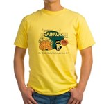 SPEEDY BRAINWASH Yellow T-Shirt