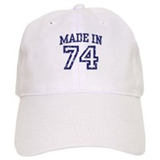 Made in 74 Baseball Cap
