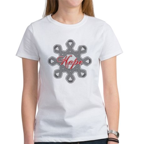 Brain Cancer Hope Unity Women's T-Shirt