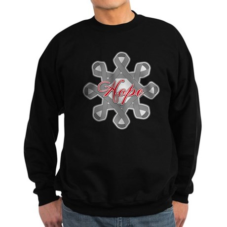 Brain Cancer Hope Unity Sweatshirt (dark)
