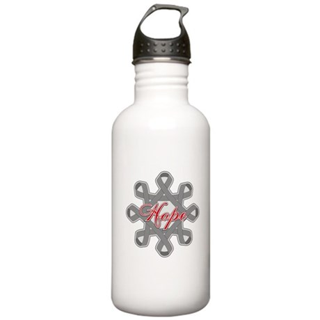 Brain Cancer Hope Unity Stainless Water Bottle 1.0